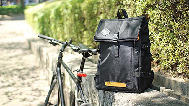 光るバックパック「flash light backpack」のハンズオンが公開。やっぱりサイドファスナーが良さげだ!