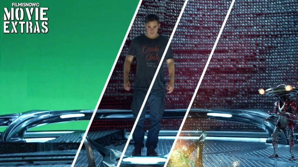 映画『パワーレンジャー』VFXメイキング映像。実は見えない部分にもこだわりが!