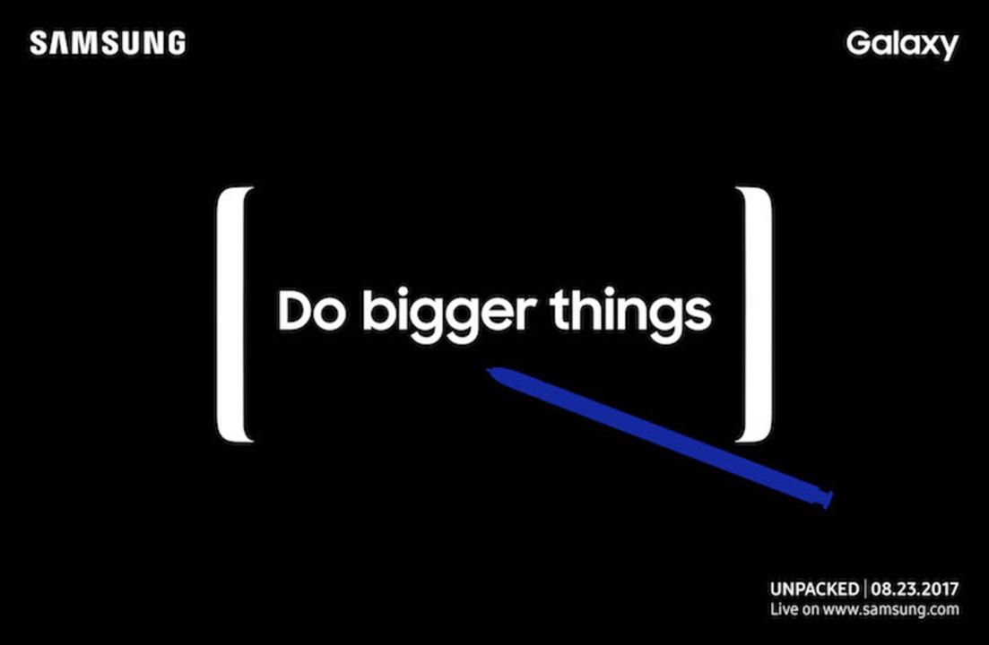 ついにきた! 新型Galaxy Noteの発売イベントが正式に8月23日で決定!