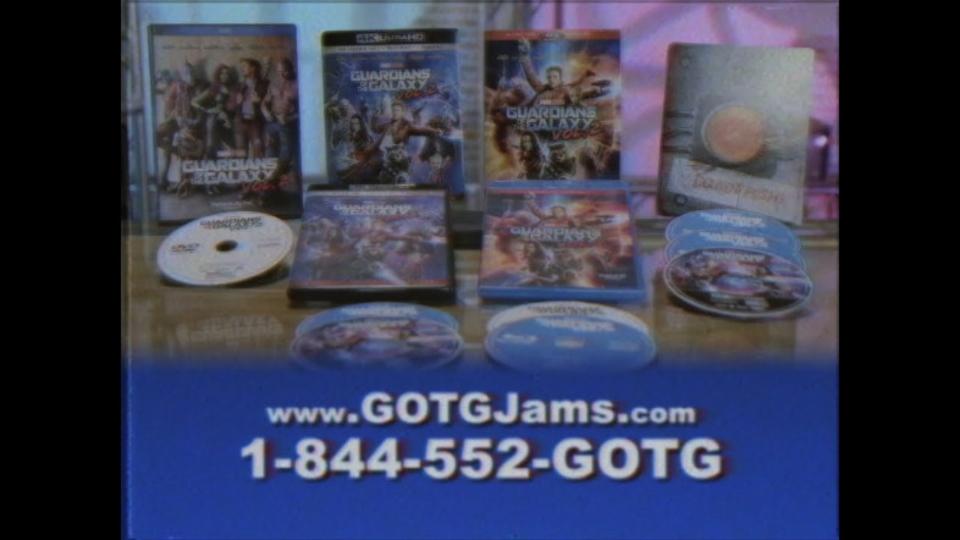 『ガーディアンズ・オブ・ギャラクシー:リミックス』はブルーレイのCMも80年代風で最高