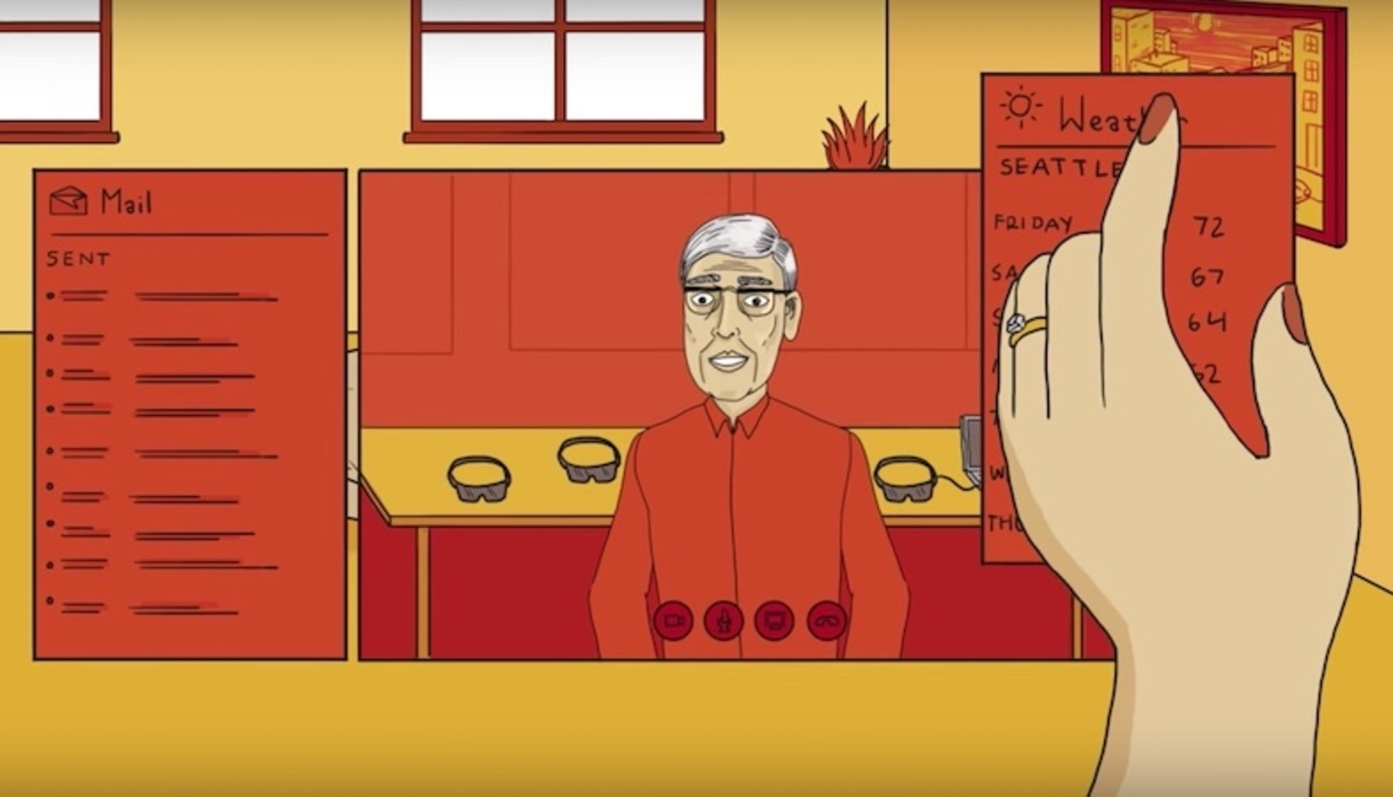 Microsoftが「ミックスドリアリティ(MR)」の世界をアニメで紹介