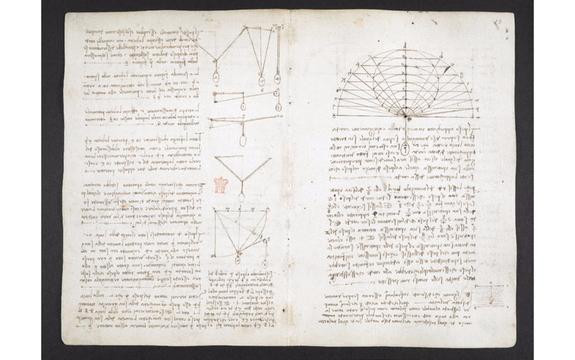 大英図書館がレオナルド・ダ・ヴィンチの手記570ページをネットで無料公開
