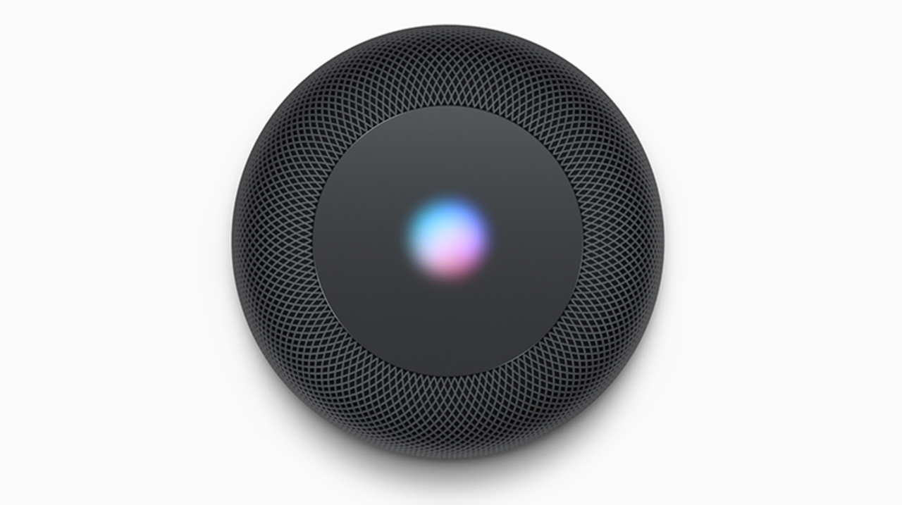 「HomePod」はiOSが動作し、上部のライトで簡単な文字も表示できる?