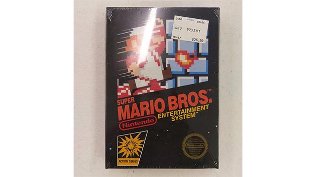 新品未開封のファミコン版『スーパーマリオブラザーズ』が300万円超えで落札される