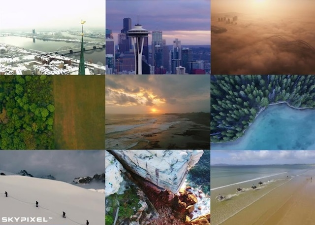 1 超豪華賞品あたる、DJI主催のドローン空撮映像コンテスト開催中。世界はかくも美しい場所で溢れている…