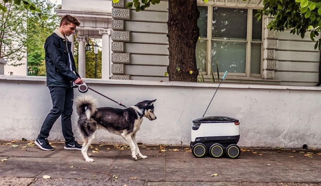 歩道を走る自動配達ロボ、米国にも進出中。5つの州で法整備も