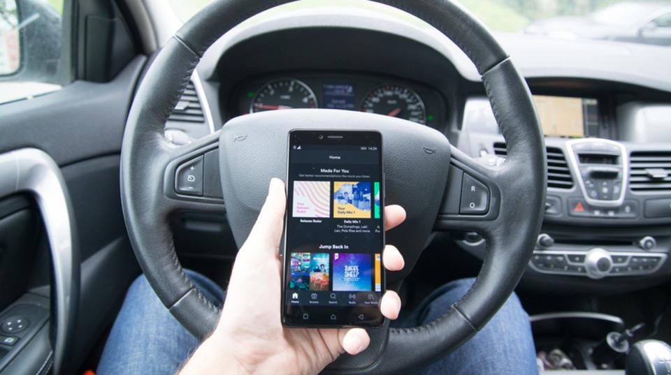 Spotifyが「ドライブモード」をテスト中? ボイスコントロールができるようになるかも…