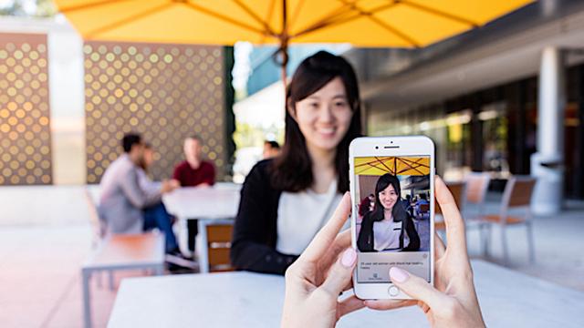 画面の向こうのあなたは誰? カメラに映ったものを読み上げアプリ「Seeing AI」Microsoftが公開