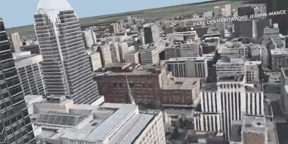iOS 11に知られざる新機能が…。地図がVR化してゴジラ目線で街を見下ろせる