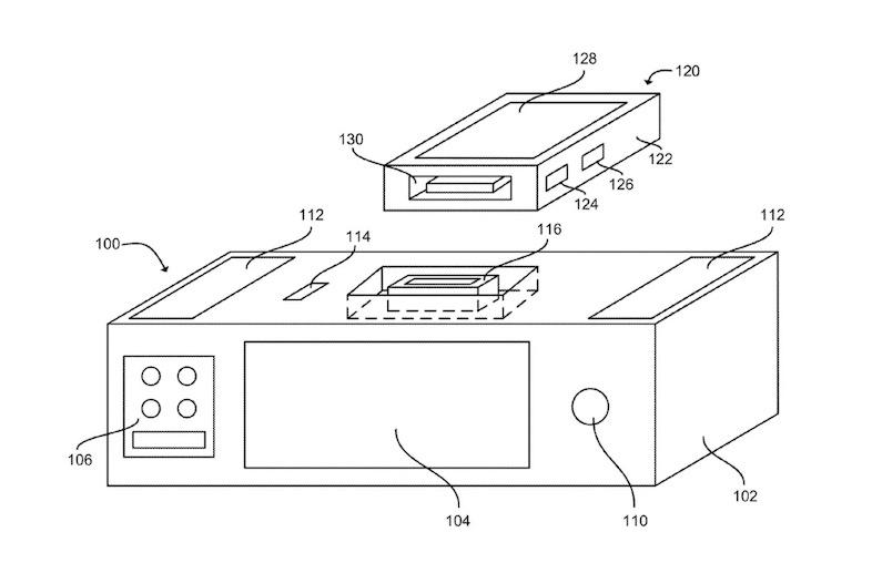 Siriも無線充電も使えるスマートドック? Appleが謎ガジェットの特許を取得