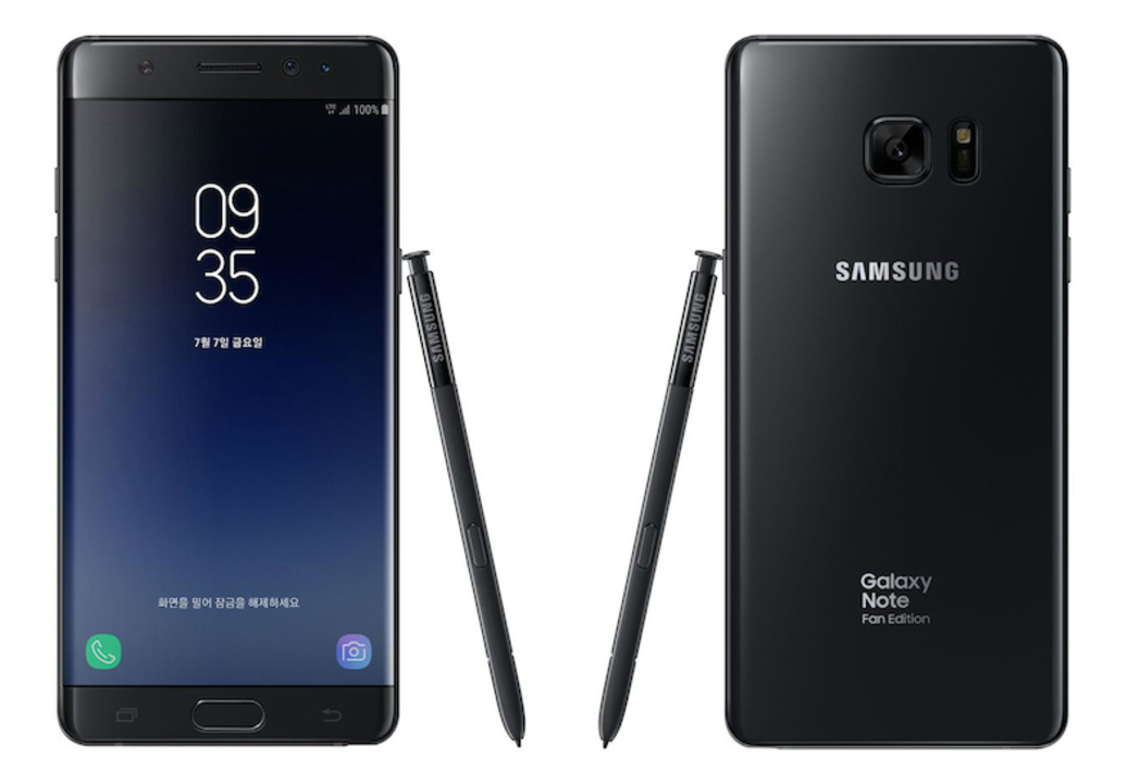 Note 7がリファービッシュで復活。Samsung「Galaxy Note Fan Edition」を正式発表