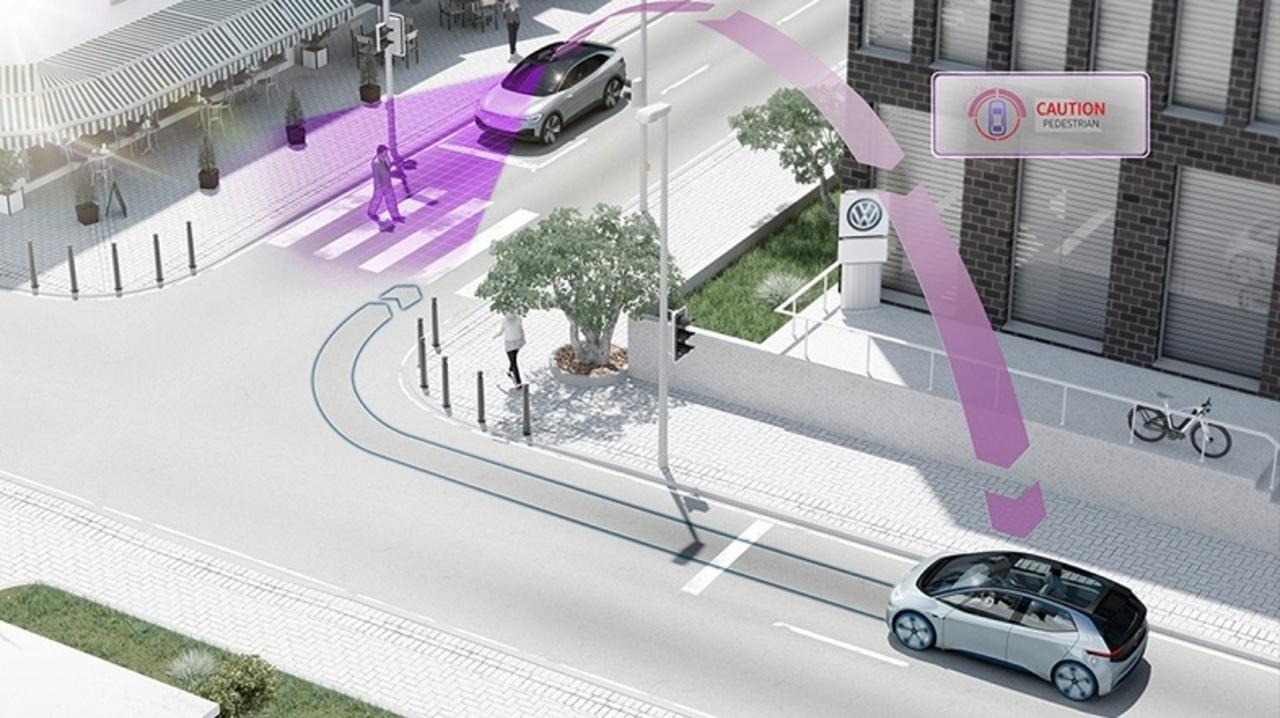 フォルクスワーゲン、2019年発売モデルから車同士が通信する