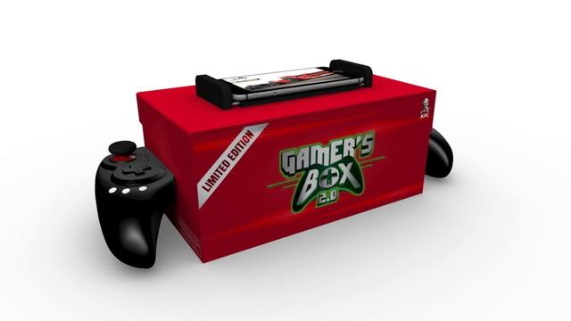 インドのKFCからランチボックス兼ゲーム・コントローラーの「Gamers Box 2.0」が登場