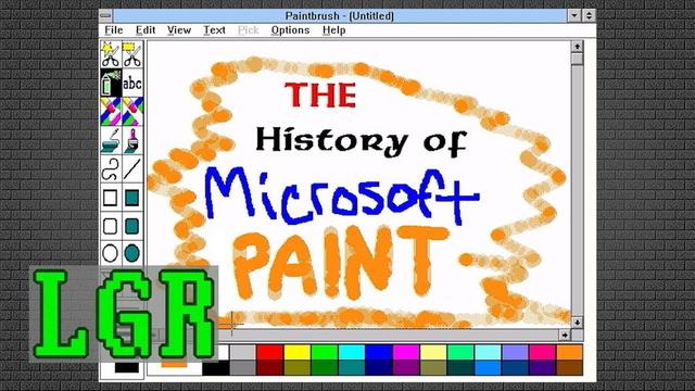 マウスのバンドルとして始まった、「Microsoftペイント」の歴史を動画で追ってみよう