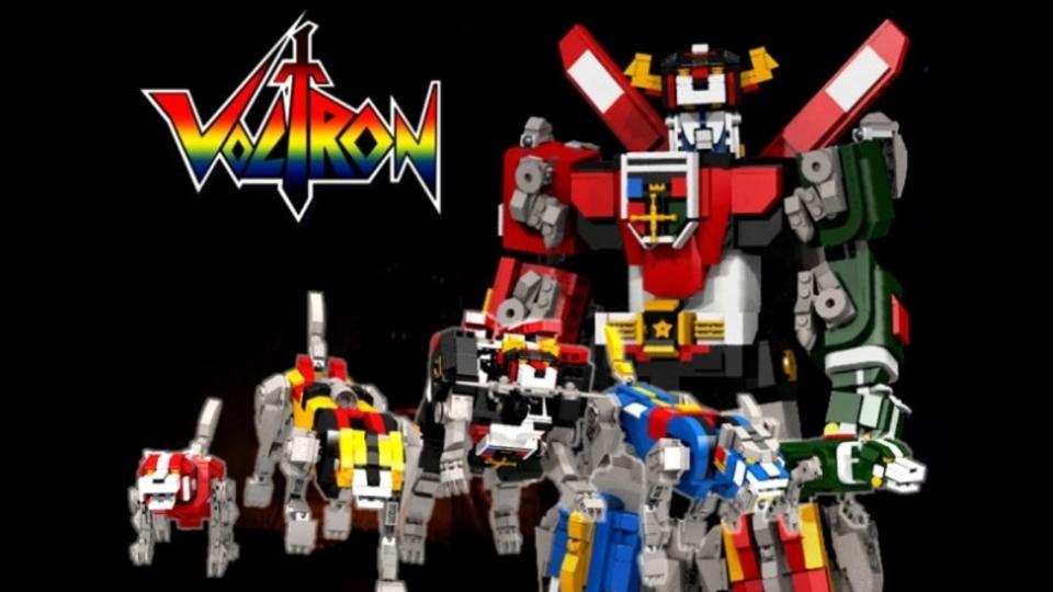 あの『ヴォルトロン』がレゴにやってくる