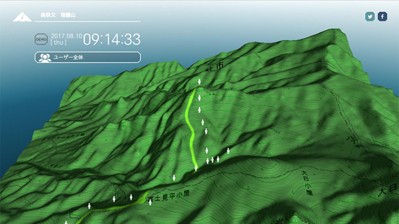 デジタルで登山者を守れ! 電波圏外の山岳地帯でも登山者の位置がわかるサービス「TREK TRACK」
