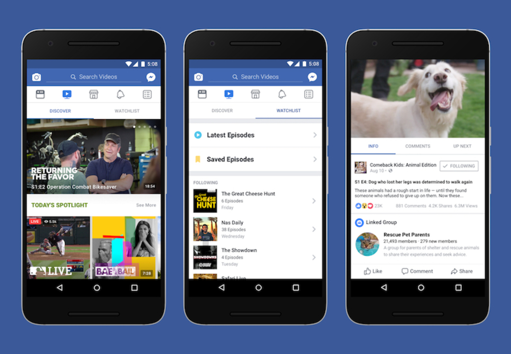 動画分野であがくFacebook。新しく立ち上げたプラットフォーム「Watch」の良さはどこだ