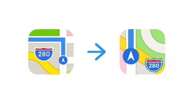 iOS 11ベータ6版で「マップ」アプリがデザイン変更。もしやApple新本社近く?