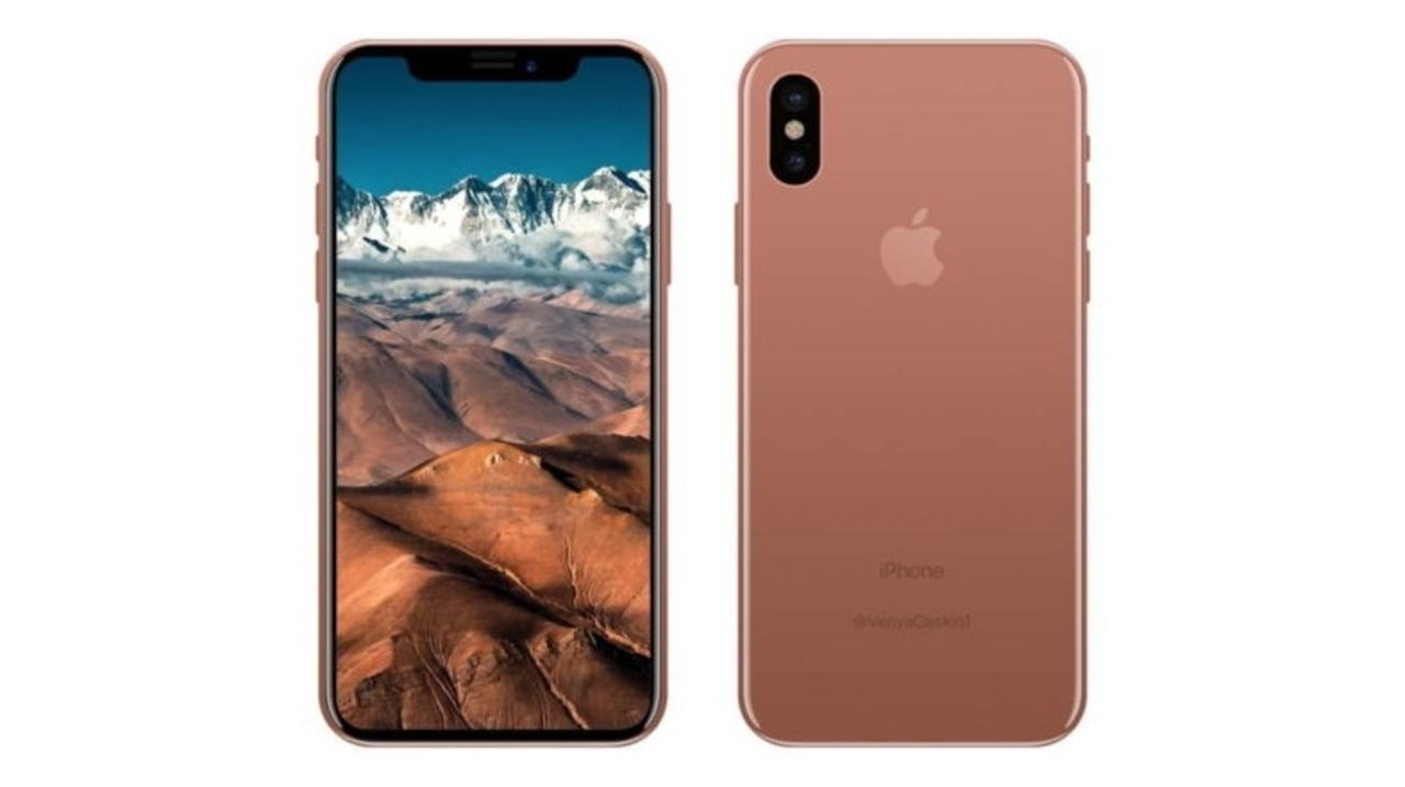 iPhone 8(仮称)の新色は「ブラッシュゴールド」で容量は64GB、128GBという説