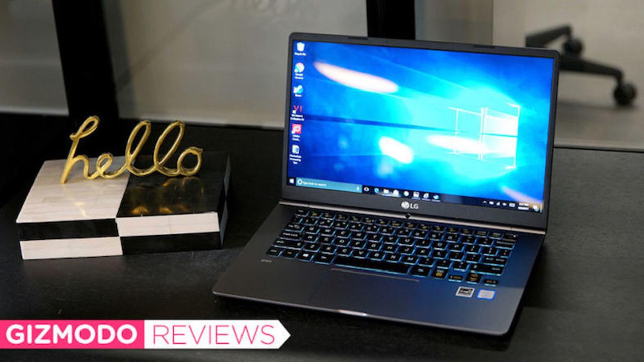 とにかく軽い、LG gramレビュー:14インチなのに13インチMacBook Proより軽い!