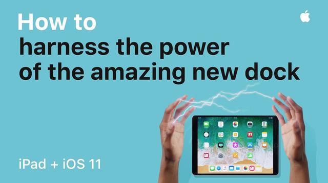 iPad Pro + iOS 11の機能を紹介するApple公式動画が6本公開