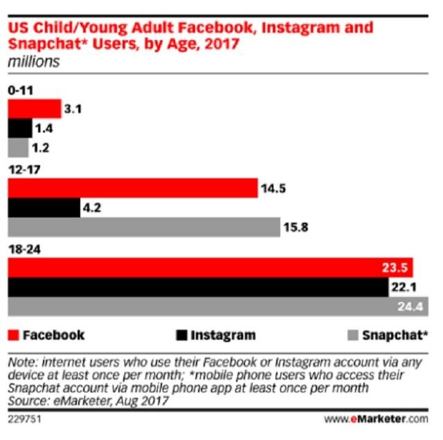 1 SNS業界、Facebook一強体制に陰りが