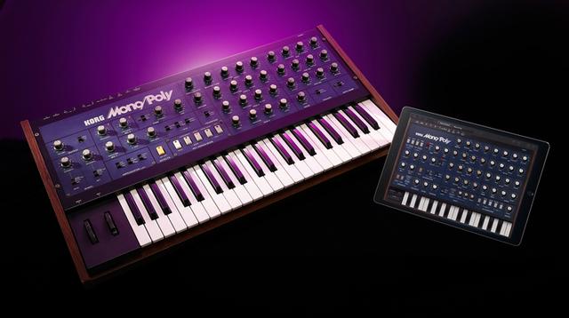 KORGの名機「Mono/Poly」を復刻したアプリ「iMono/Poly」がリリース!