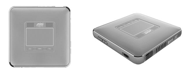 プレゼンはこれ1台で! Android OS搭載Wi-Fi対応ミニプロジェクタ「M-i1」