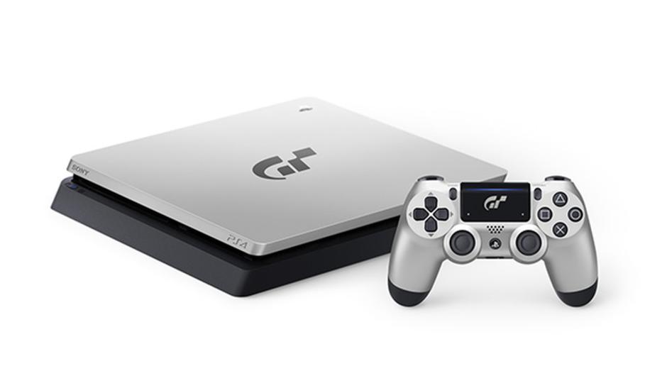 『グランツーリスモSPORT リミテッドエディション』と黒/銀の特別デザインPS4セットが限定発売