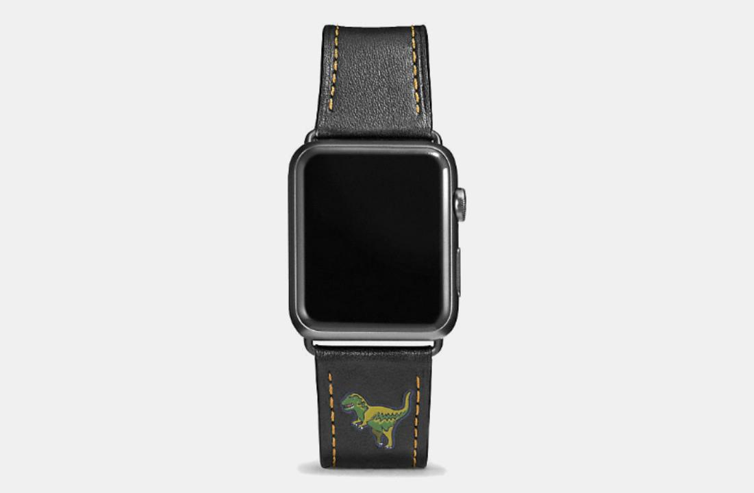 COACHのApple Watchバンドに新デザイン追加。恐竜入りもあるよ!