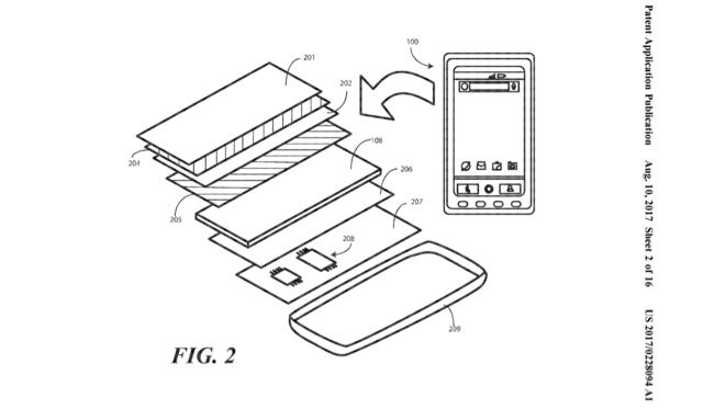 1 こことここ、直してね。割れたスクリーンが熱で直る技術の特許をモトローラが申請