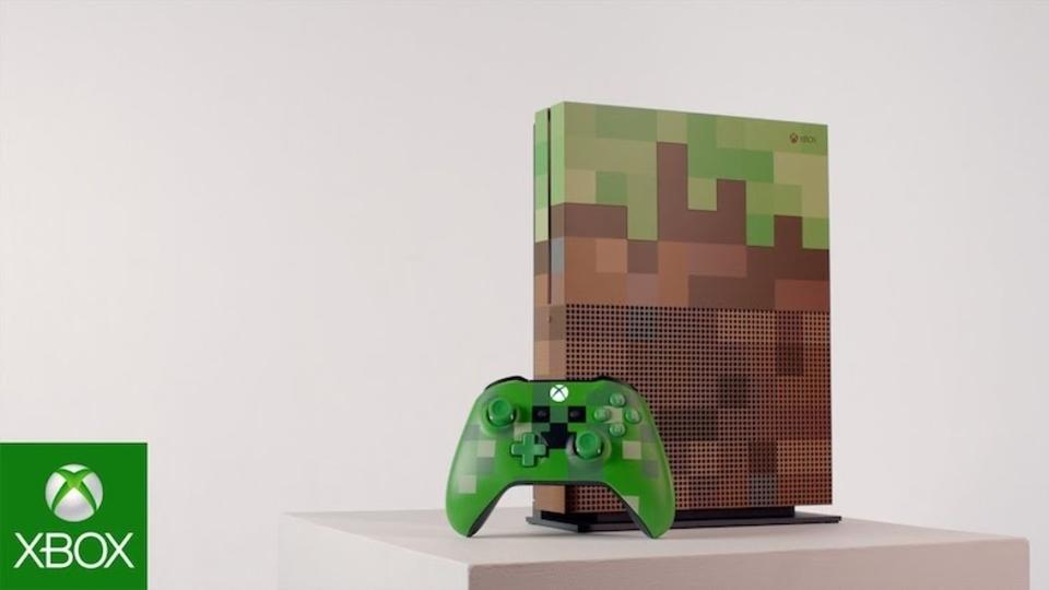 マイクラ仕様の「Xbox One S」や限定モデル「Xbox One X Project Scorpio Edition」が登場! 海外で予約スタート