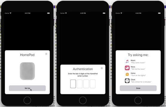 Appleのスマートスピーカー「HomePod」の設定動画が流出? 結構手軽に使えそう
