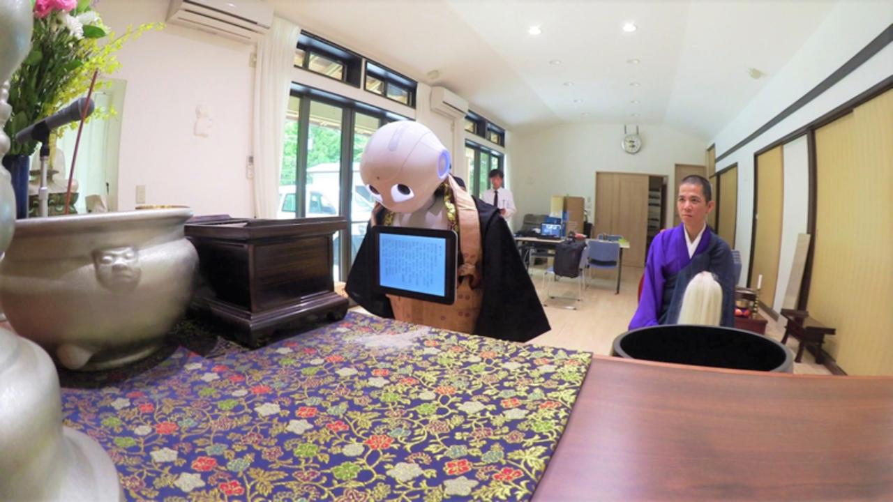 ペッパー君が読経。ニッセイエコがロボットによる葬式や電子芳名帳のサービスを開始へ