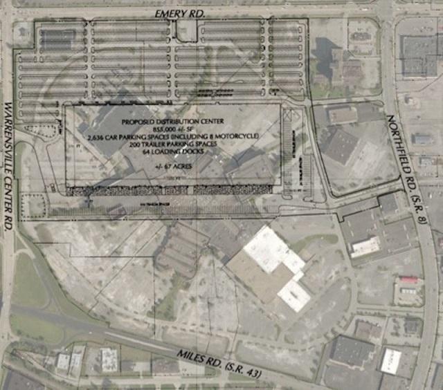2 Amazonがかつてアメリカ最大だったショッピングモール跡地に巨大倉庫建設