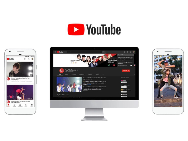YouTube、ロゴとサイトデザインを一新