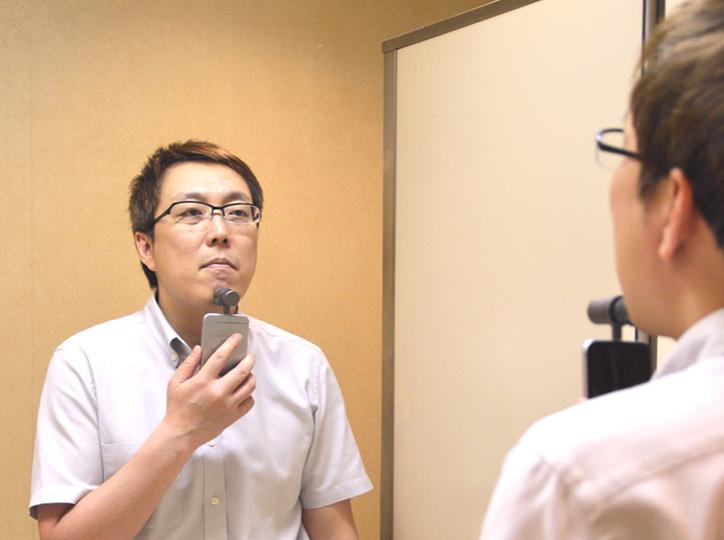 剃り残しが気になる…。そんなときにすぐ使える「ポケット髭剃り for iPhone」