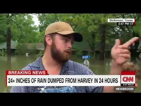ドローン映像に見る、ハリケーンハービーの爪痕