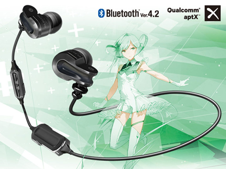 士郎正宗デザイン&アニソン向けチューニングが施されたヘッドフォンであなたは何を聞きますか?