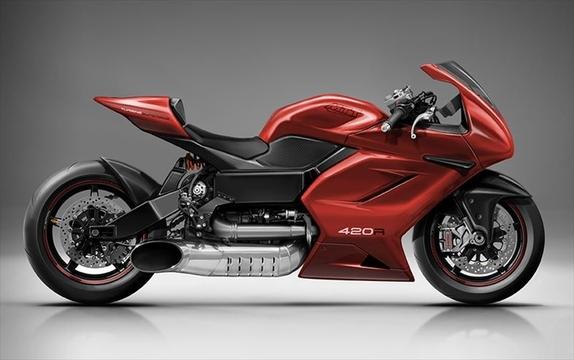 オートマ2速で420馬力。ロールスロイスのジェットエンジンを使った猛烈バイク