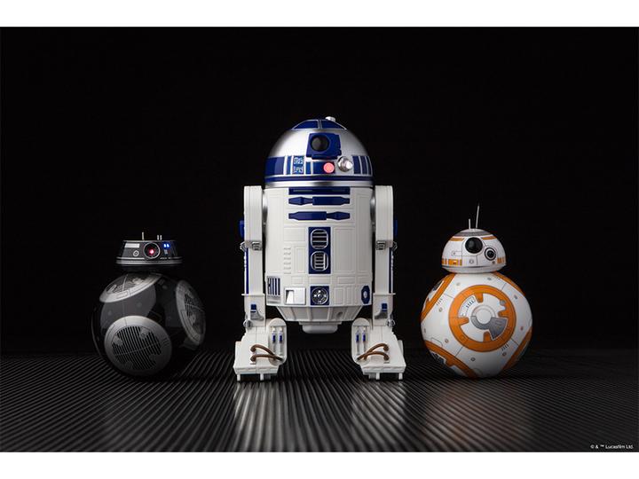Sphero社から「R2-D2」、『エピソード8』の新ドロイド「BB-9E」のロボットトイが登場