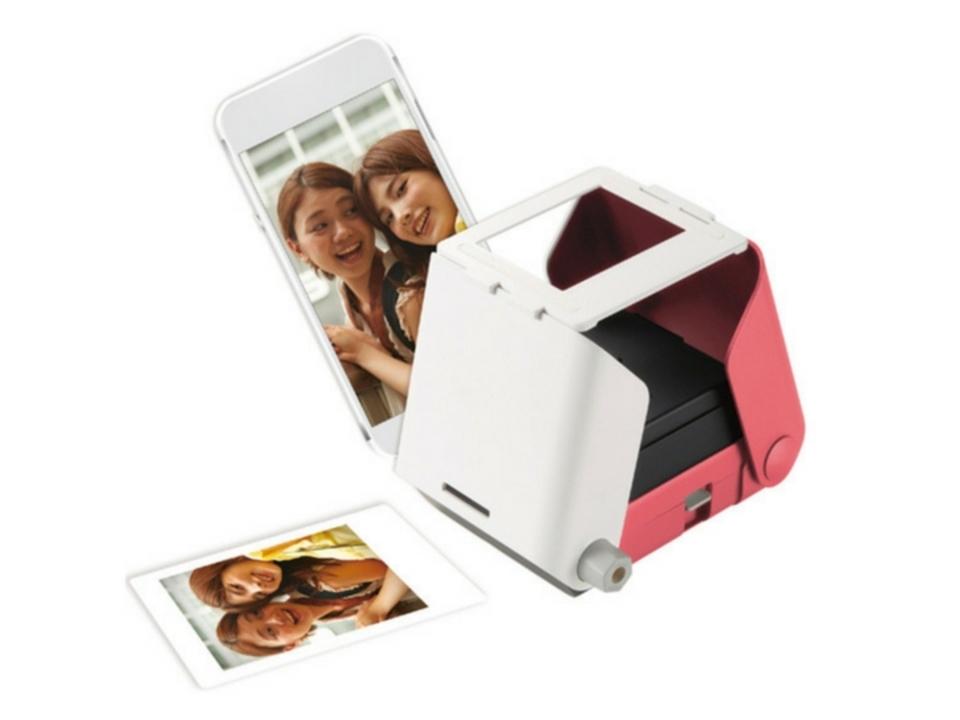 デジタルをアナログに。スマホの写真を簡単に印刷できる「Printoss」