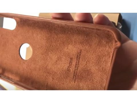 「iPhone 8」の純正ケース…なのかな? ちょっと怪しい動画が登場