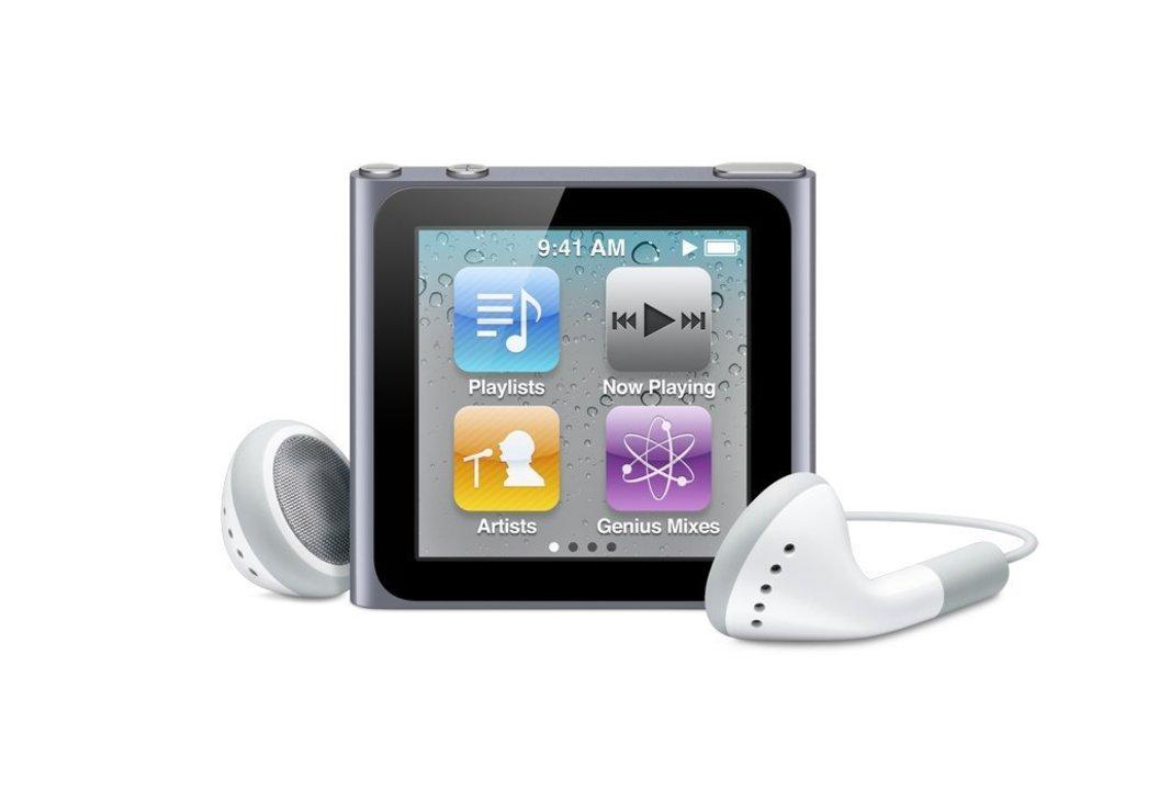 スクウェアかわいい「iPod nano(第6世代)」の修理とサポートが終了