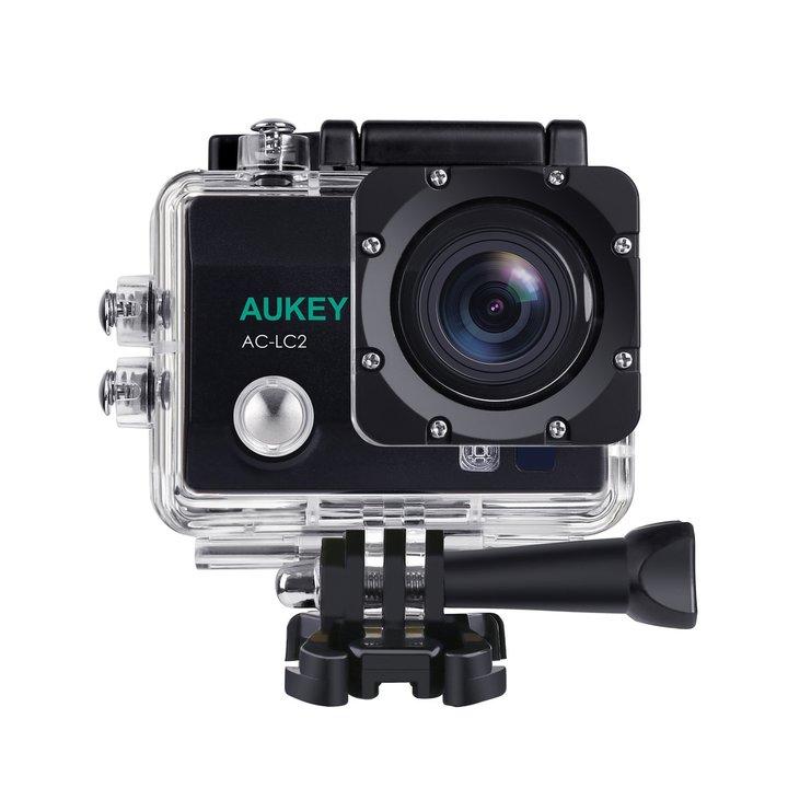 AUKEYより、8,999円であれこれ付いてくる4K対応アクションカメラ