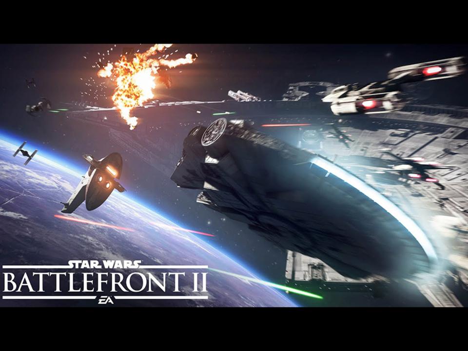 宇宙でも激しく戦うヨーダ! 『Star Wars バトルフロント II』宇宙戦ゲームプレイトレーラー