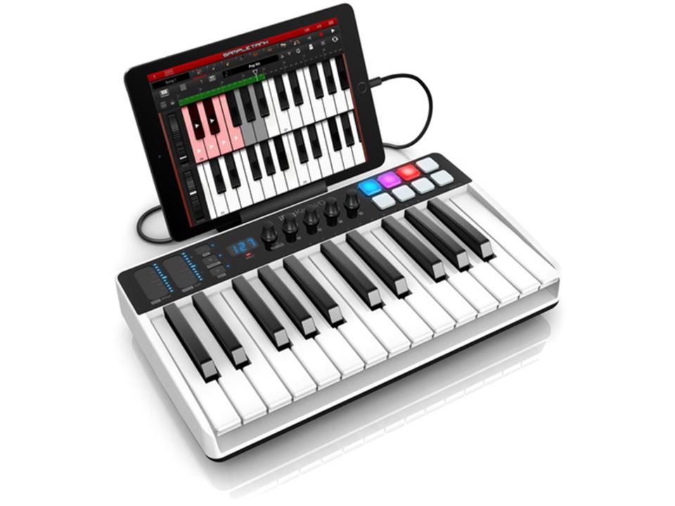 DTMのはじめの一歩にぴったりなMIDIキーボード「iRig Keys I/O」