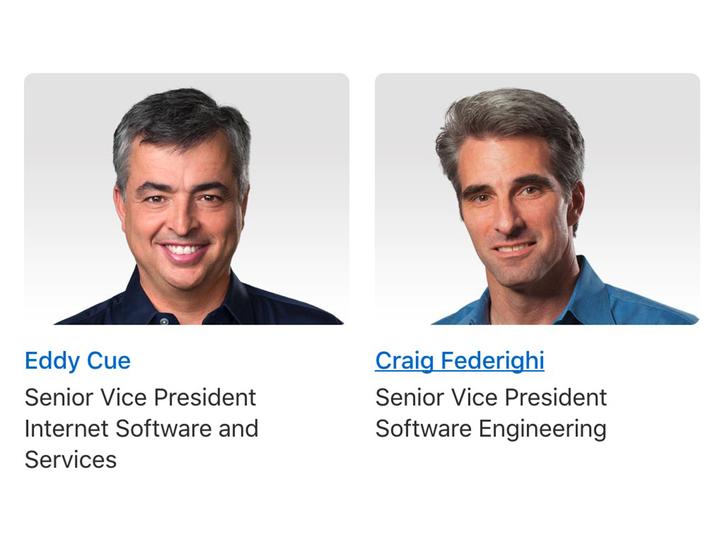 Siriさんの開発責任者、エディ・キューからクレイグ・フェデリギに交代