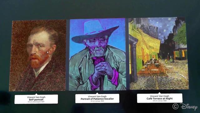 ディズニーが開発中のアプリ「AR Museum」で名画をイカした色味にしよう