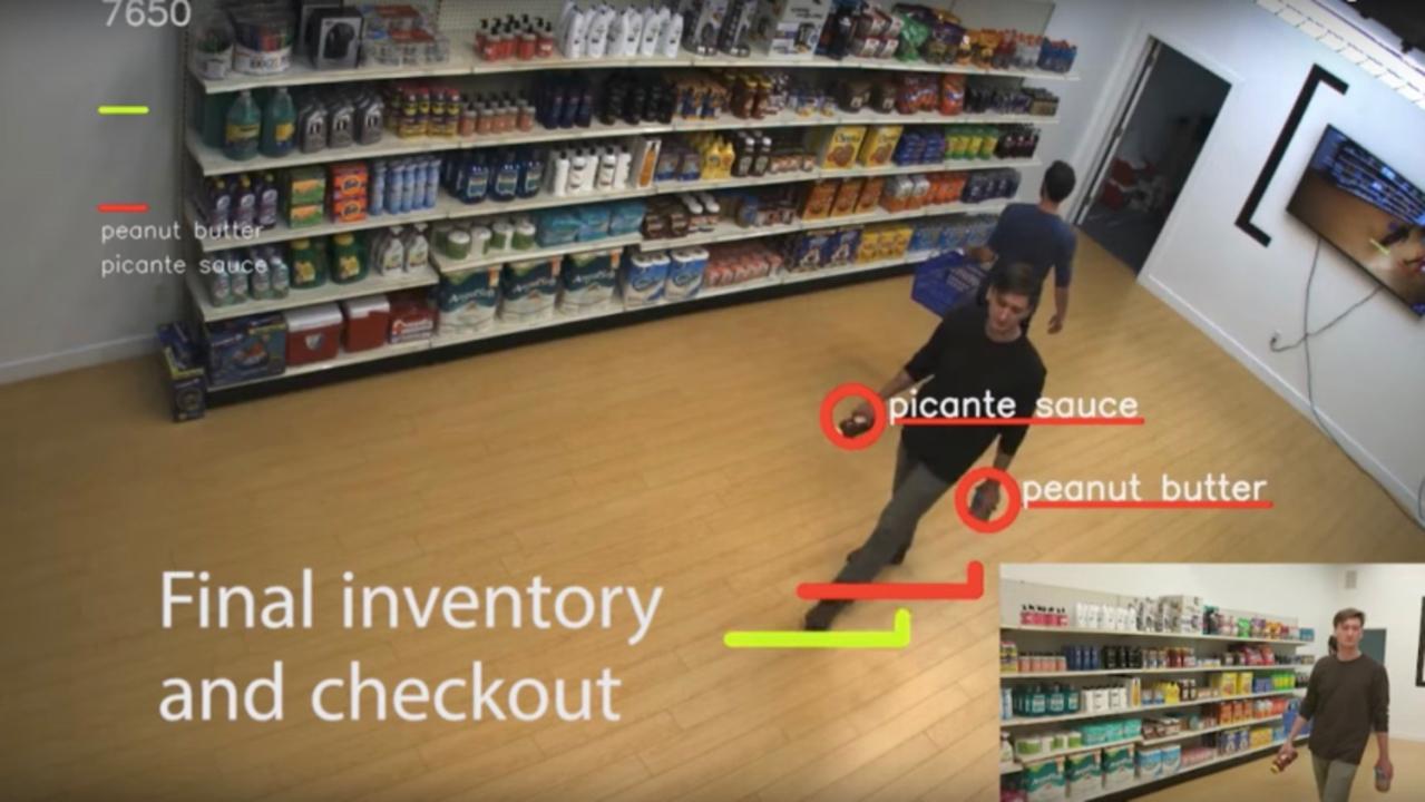 ディープラーニングで自動レジ精算。買い物カゴに何を入れたかをトラッキングして万引き防止にも